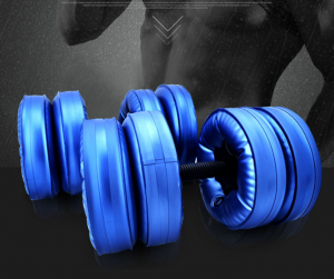 Water-filled Barbells Eco-friendly Fitness Training Arm