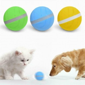 Electric Wicked Jumping Led Ball Pet Toys