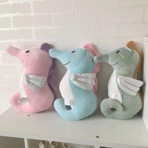 Cartoon Hippocampus Pillow Plush Toy