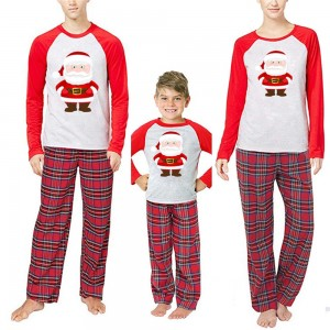 Christmas Family Pajamas Kids Adult Nightwear