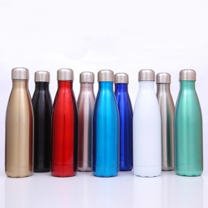 Double Wall Vacuum Stainless Steel Water Bottle
