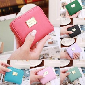 Women Fashion Short Wallet