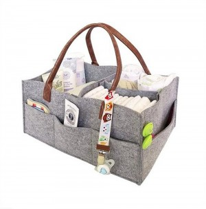 Protable Folding Felt Storage Bag