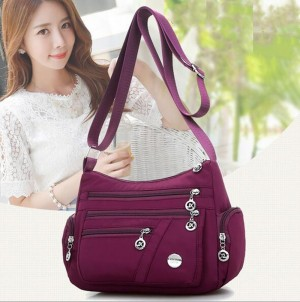 Women Nylon Waterproof Crossbody Bags