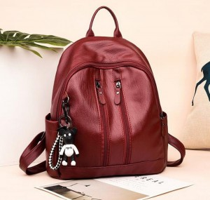 PU Soft Fashion Casual Backpack
