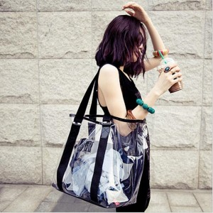 Women Fashion Transparent Shoulder Bag