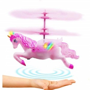 Unicorn Helicopter Doll