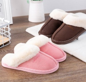 Women Home Non-Slip Cotton Slippers