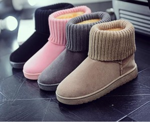Leisure Snow Short Boots