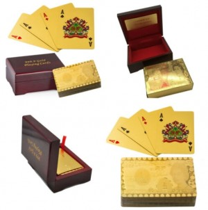 Gold-Plated Playing Cards
