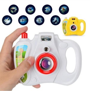 Cartoon Simulation Light Patterns Projection Camera