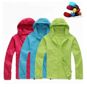 Foldable Quick Dry Outdoor Camping Jackets