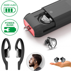 Mini Bluetooth 5.0 Earbuds with case.