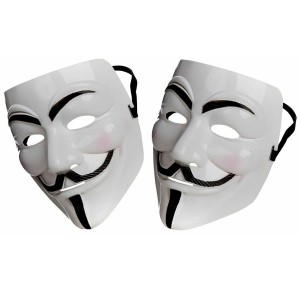Cosplay Halloween Party V for Vendetta Mask