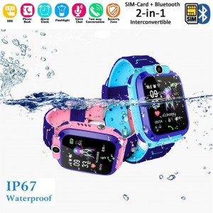 Smart Watch with GPS GSM Locator Touch Screen Tracker SOS for Kids