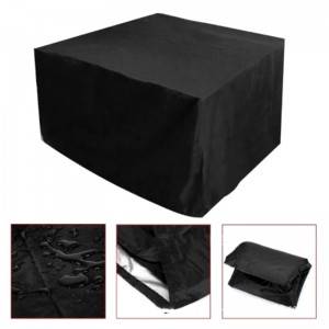 Black Outdoor Waterproof Furniture Cover