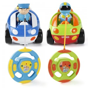 Remote Control Cartoon Car Kids Toys