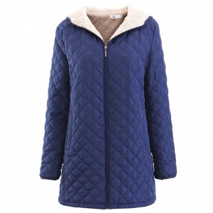 Mediun Long Women Hooded Winter Coats