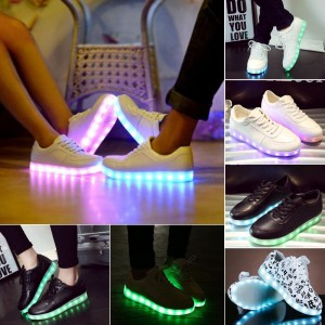 Unisex Luminous LED Light Shoes