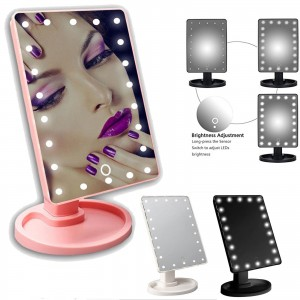 22 LED Light Illuminated Make Up Mirror