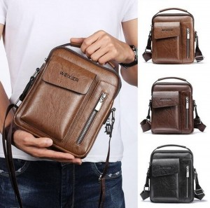 Men's Bags Retro Casual Crossbody Shoulder Bag