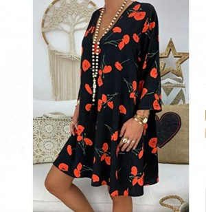 Womens Summer Casual Beach Sun Dress