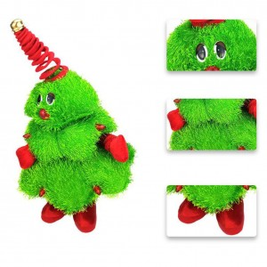 Dancing Christmas Tree Electric Plush Doll