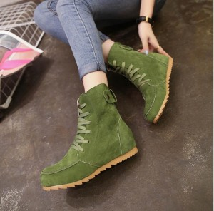 Women Ankle Shoes Casual Flat Martin Boots