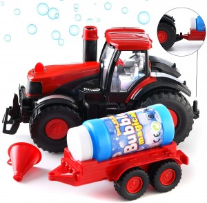 Bubble Blowing Farm Tractor Toy