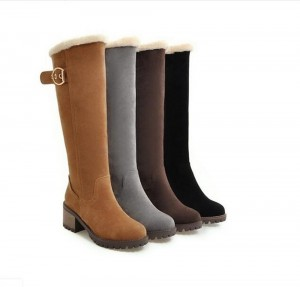Women Knee High Snow Boots