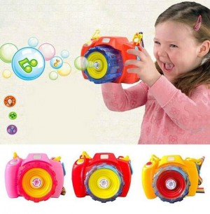 Light Music Automatic Bubble Blowing Toys